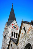 Traditionelle Kirche in Hallstatt, Österreich Lizenzfreies Stockfoto