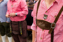 Traditionelle Kleidung Oktoberfest Stockbild