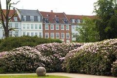 Traditionelle Kopenhagen-Architektur Stockfoto