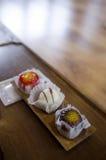 Traditionelle Koreaner-Kuchen Stockfotos