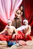 Traditionelle Kostüme Stockfotografie