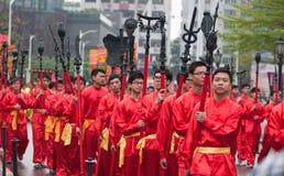 Traditionelle Kultur-Parade Lizenzfreies Stockbild