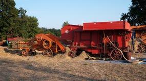Traditionelle landwirtschaftliche Maschinen Stockfotos
