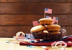Traditionelle Lebensmittelmuffins Lizenzfreies Stockfoto