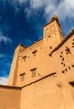 Traditionelle Lehmhäuser in Ait Ben Haddou-Dorf, ein UNESCO-Bauerbe in Marokko Lizenzfreie Stockfotos