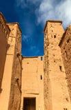 Traditionelle Lehmhäuser in Ait Ben Haddou-Dorf, ein UNESCO-Bauerbe in Marokko Stockbilder