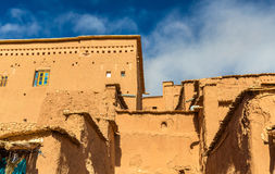 Traditionelle Lehmhäuser in Ait Ben Haddou-Dorf, ein UNESCO-Bauerbe in Marokko Stockfotos