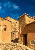 Traditionelle Lehmhäuser in Ait Ben Haddou-Dorf, ein UNESCO-Bauerbe in Marokko Stockfotografie
