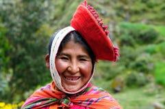 Traditionelle Leute von Peru Lizenzfreie Stockfotos