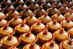 Traditionelle maroccan Tonwaren Lizenzfreie Stockfotografie