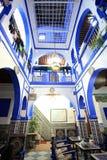 Traditionelle marokkanische Architektur Lizenzfreie Stockfotos