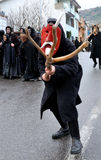 Traditionelle Masken von Sardinien Lizenzfreies Stockbild