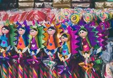 Traditionelle mexikanische Süßigkeit von der Basilika von Guadalupe Lizenzfreies Stockbild