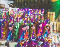 Traditionelle mexikanische Süßigkeit von der Basilika von Guadalupe Stockfotografie