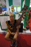 Traditionelle Musik Borneos Stockbild