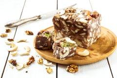 Traditionelle orientalische Bonbons - Sorbett Lizenzfreie Stockbilder