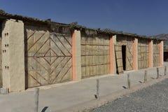 Traditionelle orientalische Hütten Lizenzfreie Stockbilder
