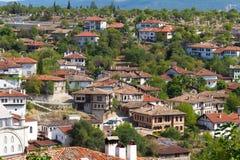 Traditionelle Osmane-Häuser Stockfotos