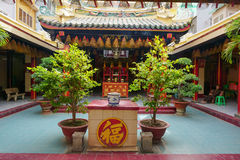 traditionelle pagode in der stra e von hoi an lizenzfreie stockfotografie. Black Bedroom Furniture Sets. Home Design Ideas