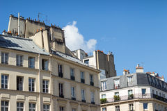 Traditionelle Paris-Dachspitze Lizenzfreies Stockbild