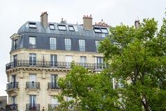 Traditionelle Pariser Architektur Stockfoto