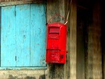 Traditionelle Post Stockbild