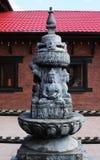 Traditionelle religiöse buddhistische Statuen Stockbild