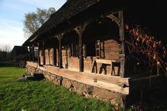 Traditionelle rumänische Architektur lizenzfreies stockfoto
