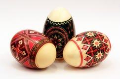 Traditionelle rumänische Ostereier Lizenzfreie Stockfotografie