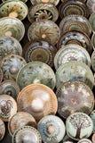Traditionelle rumänische Tonwaren Stockfotos