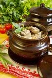 Traditionelle russische Küche Lizenzfreie Stockfotos
