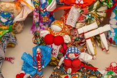 Traditionelle russische Puppe lizenzfreie stockfotografie