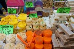 Traditionelle Süßigkeit von Mexiko Stockbilder