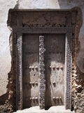 Traditionelle Sansibar-Tür Lizenzfreies Stockbild