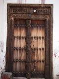 Traditionelle Sansibar-Tür Lizenzfreie Stockfotografie
