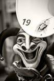 Traditionelle Schablone am Karneval Lizenzfreie Stockbilder