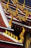 Traditionelle siamesische Architektur lizenzfreie stockbilder