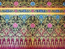 Traditionelle siamesische Artanstrichkunst Lizenzfreies Stockfoto