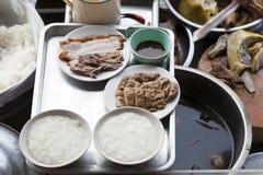Traditionelle siamesische Nahrung Stockfoto