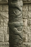 Traditionelle Skulptur in Seoul Südkorea Lizenzfreie Stockfotos