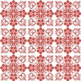 Traditionelle slawische Verzierung für Stickerei vektor abbildung