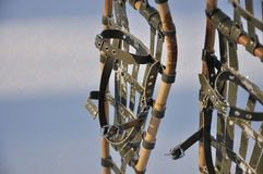 Traditionelle Snowshoes Stockbilder