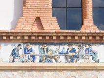 Traditionelle Szenen der Weinlese stockbilder