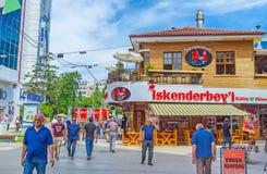 Traditionelle türkische Küche in Antalya Stockbilder