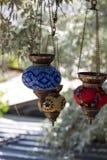 Traditionelle türkische Lampe Lizenzfreies Stockfoto