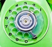 Traditionelle Telefontastatur Stockbild
