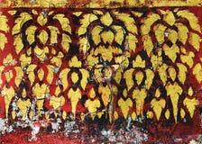 Traditionelle thailändische Artmalerei Lizenzfreie Stockfotos