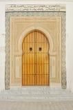 Traditionelle tunesische Tür Lizenzfreies Stockfoto