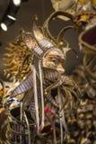 Traditionelle venetianische Karnevalsschablone Lizenzfreie Stockfotos
