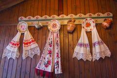 Traditionelle Wanddekoration Stockbild